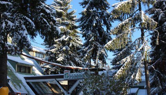 Hotel Panorama Zima Sneg