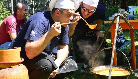 Takmičenje u pravljenju riblje čorbe - ZlatarFest 2016