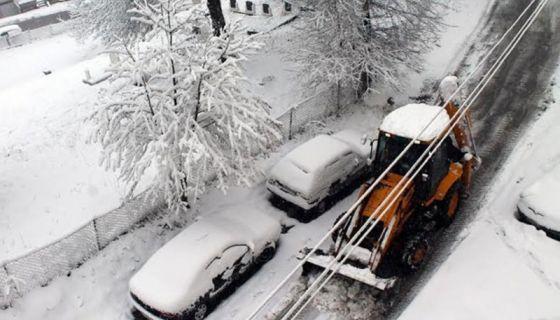 Чишћење снега у Новој Вароши