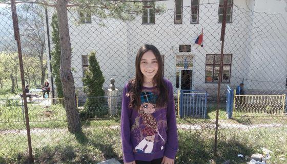 Марија Несторовић - освојила прво место на такмичењу