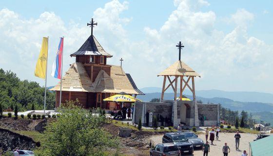 Црква Свете Тројице на Зборишту, украс Муртенице