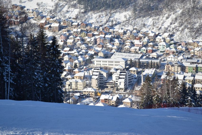 Нова Варош под снегом