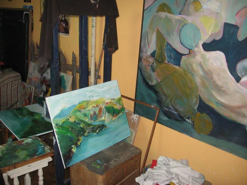 """Škola slikanja u okviru projekta """"Konektovanje"""""""