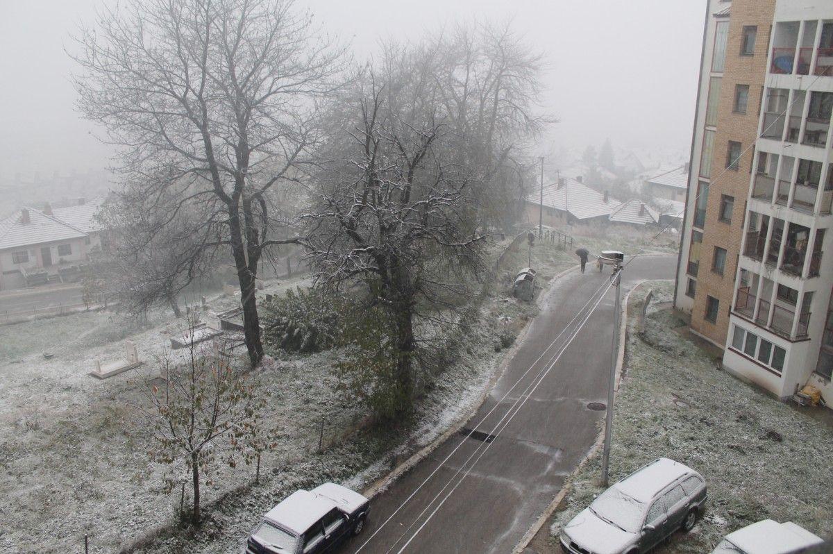 Sneg u Novoj Varoši