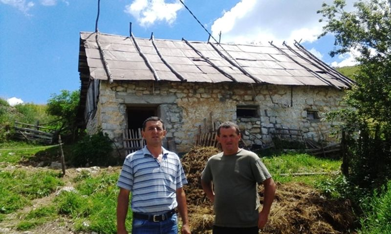 Радојко Шекељић и Марко Вјетровић село Штитково
