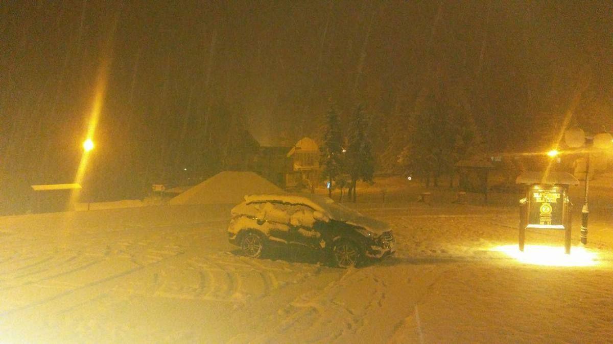 Prvi sneg na Zlataru 2016