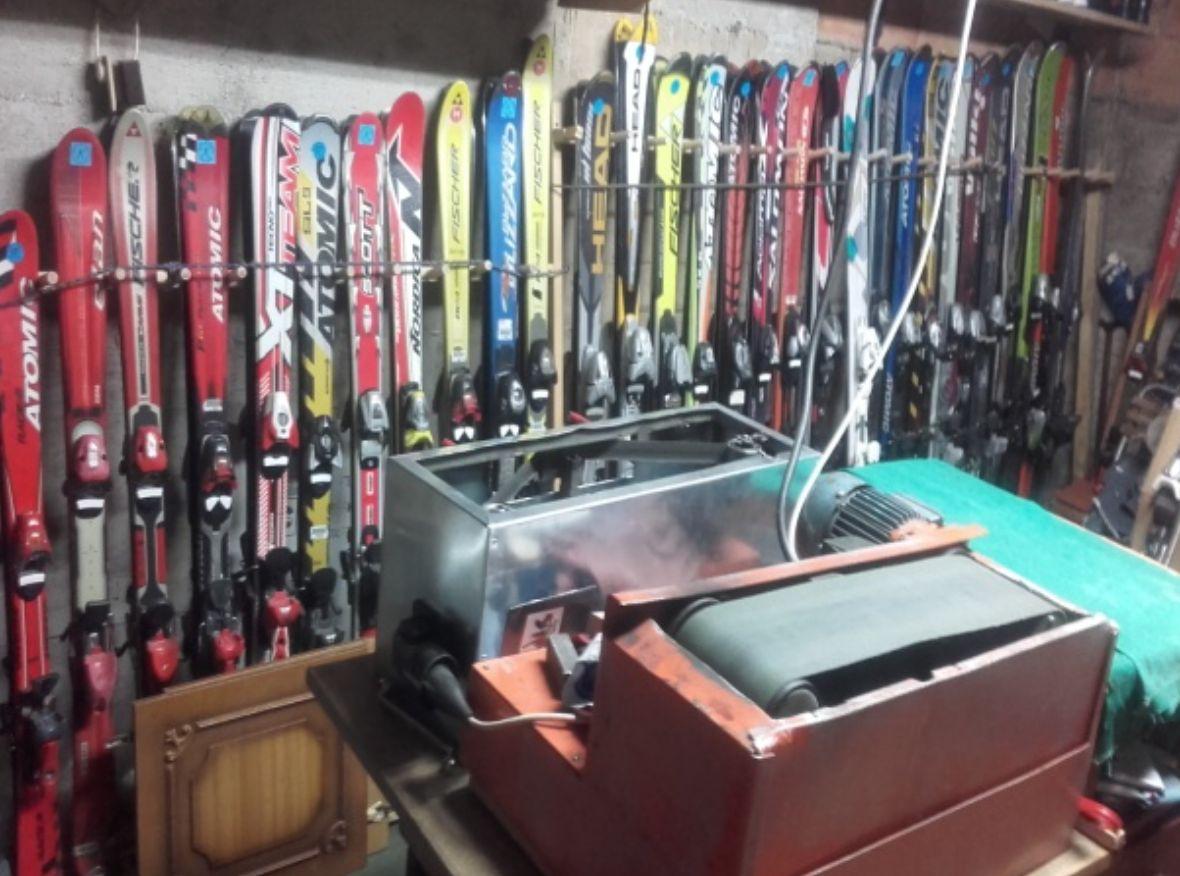 Reparacija skija