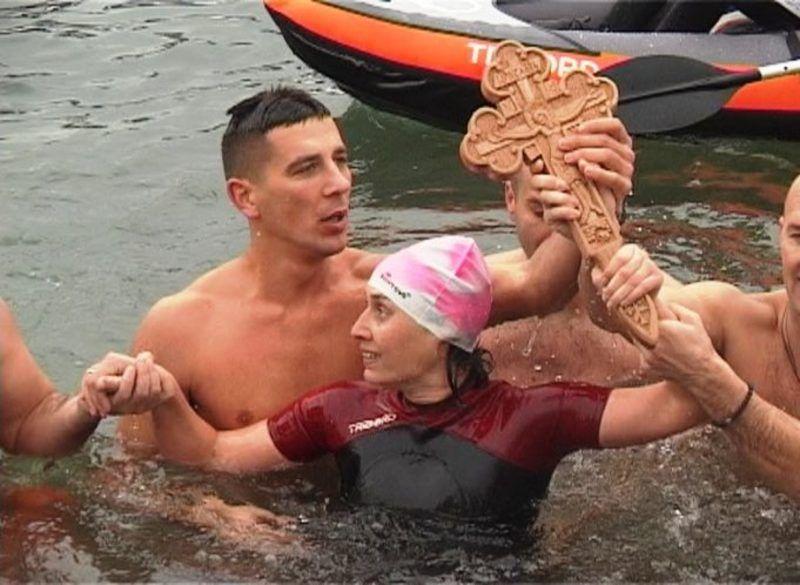 Јасмина Симовић победница пливања за Часни крст у Пријепољу 2017. гоидине
