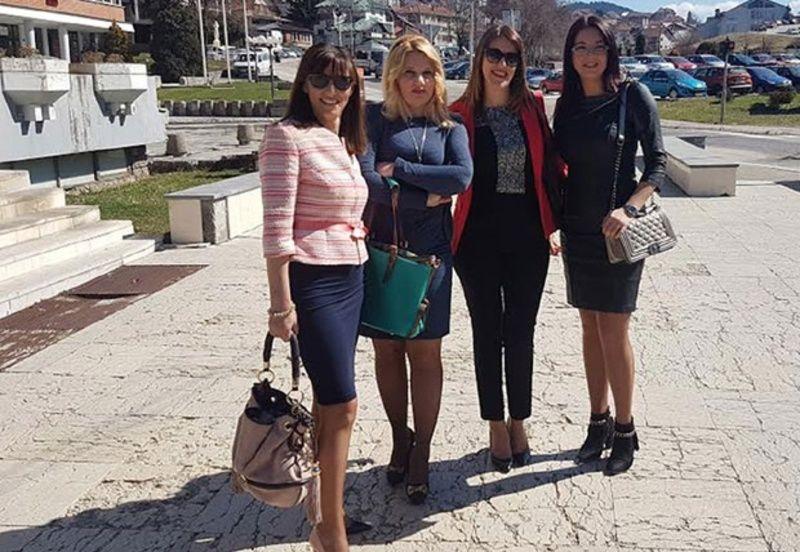 Михрија Хаџић, Сузана Шуљагић, Роса Јаковљевић и Јелена Лековић