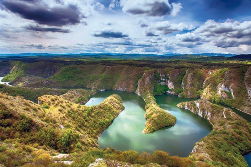 Увац је 2008. проглашен једним од седам природних чуда Србије (Фото: П. Новаковић)