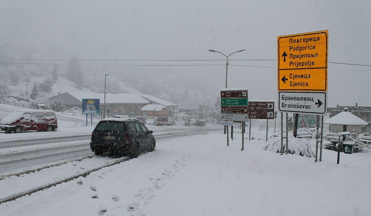 Први снег у Вароши