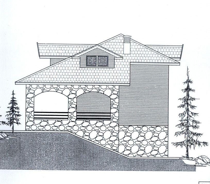 Ловачки дом на Боровитој Главици,  овако ће изгледати  јужна фасада