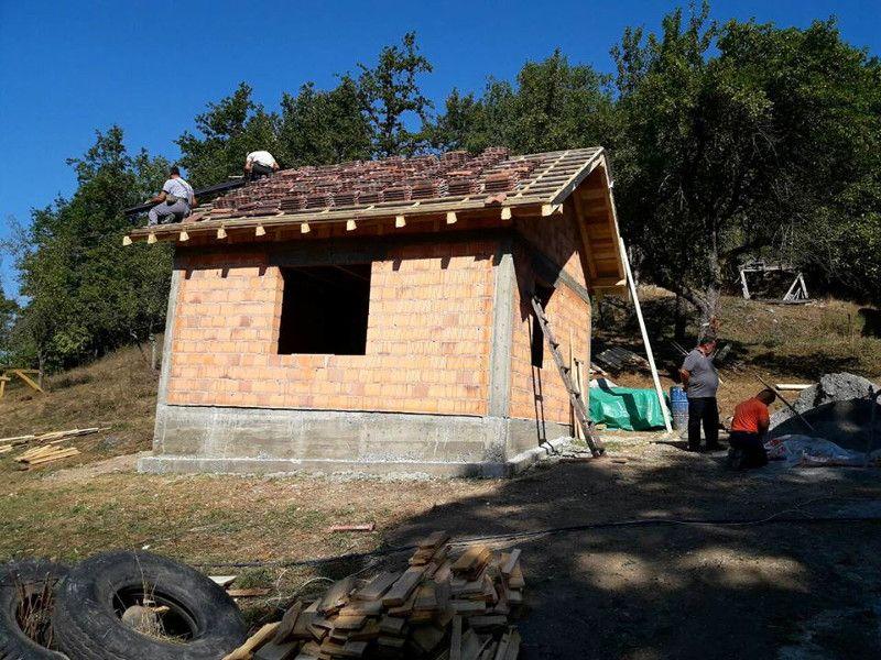 Нова кућа грађена уз помоћ привредника, фото: Глас западне Србије