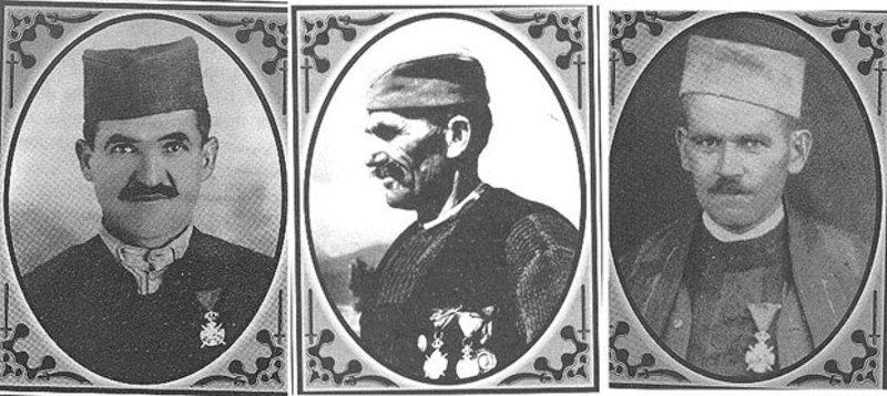 Живојин Рајковић, Љубомир Ршумовић и Бранислав Раковић