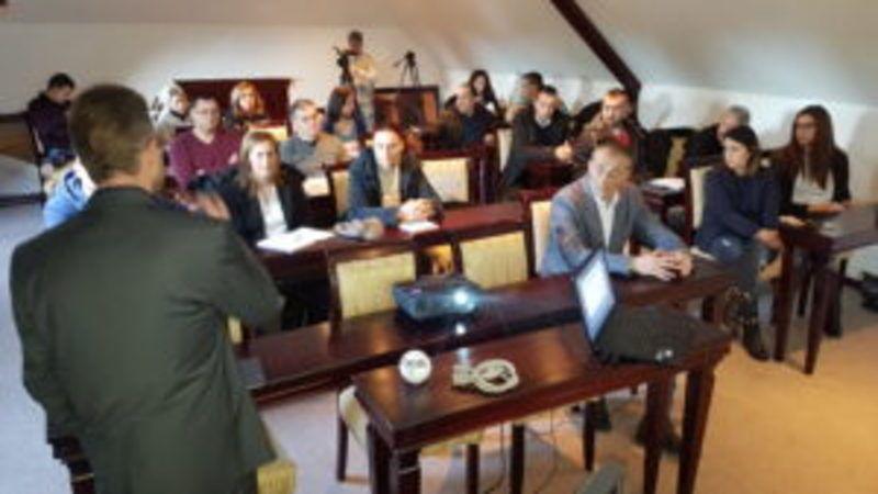 Златар - Детаљ са тренинга намењеног предузетницима