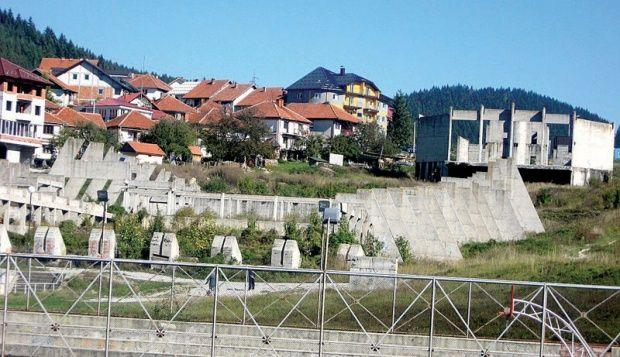 Zidine nesuđenog sportskog centra
