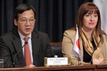 Masafumi Kuroki i Stana Božović
