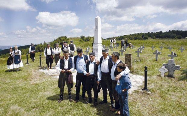 Sabor kod spomenika na Javoru, u nedelju pred Vidovdan