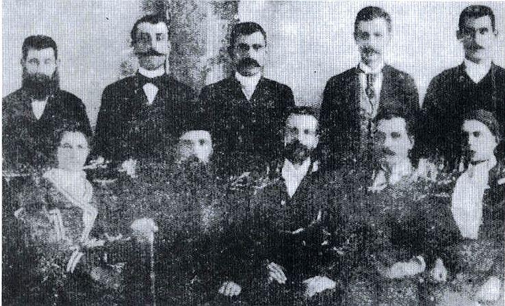 Ucitelji srpskih skola krajem 19. veka