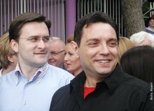 Aleksandar Vulin i Nikola Selakovic