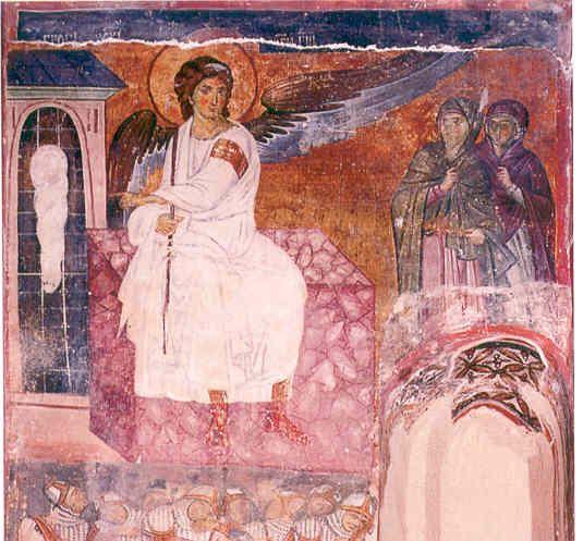 Beli andjeo u manastiru Mileseva