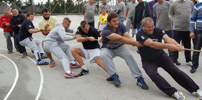 Vuca konopca na seoskoj olimpijadi 2014