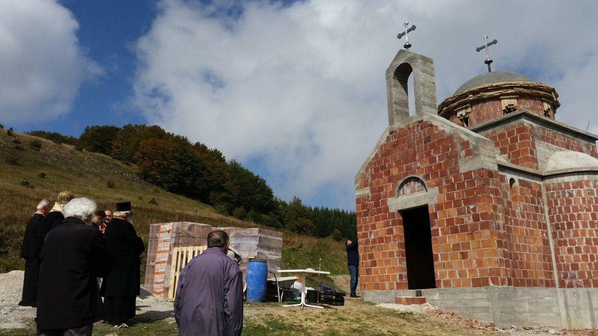 Crkva posvećena srpskim mučenicima od Kosova do današnjih dana ( Foto D. Marković)