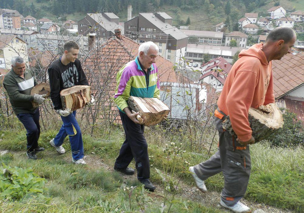 Ugalj, drva i ostale potrepštine mogu se do kuća doneti samo u rukama (Ž. Dulanović)