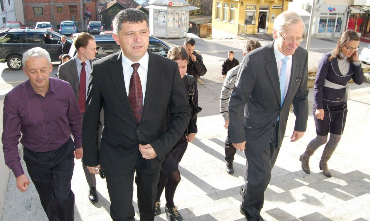 Majkl Kirbi u poseti Novoj Varoši