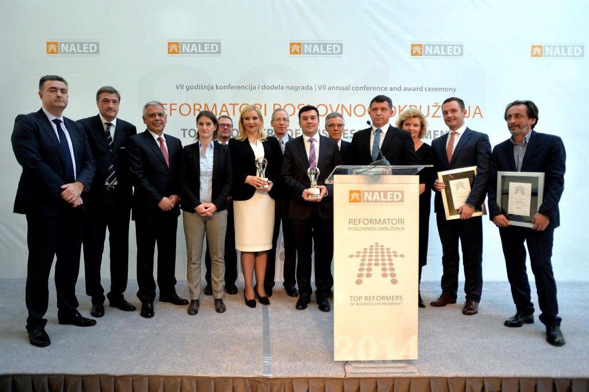 Dobitnici nagrada NALED-a