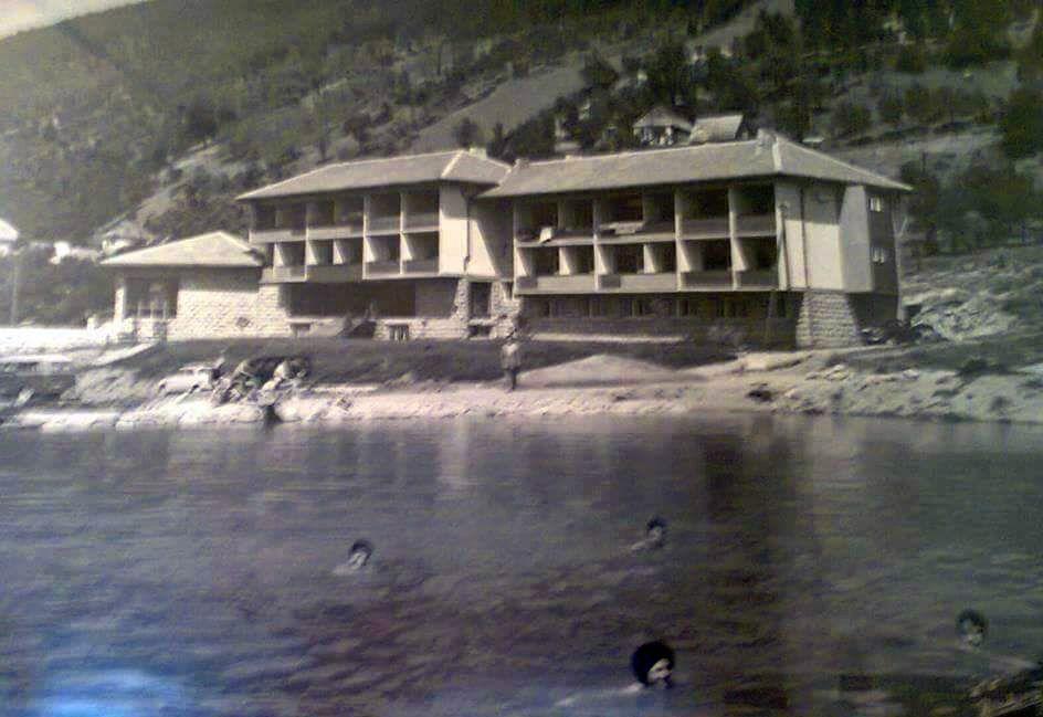 Jezero u centru Nove Varosi nekad