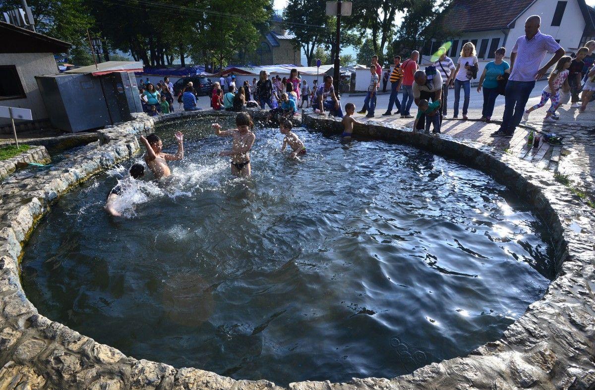 Pribojska banja bazen