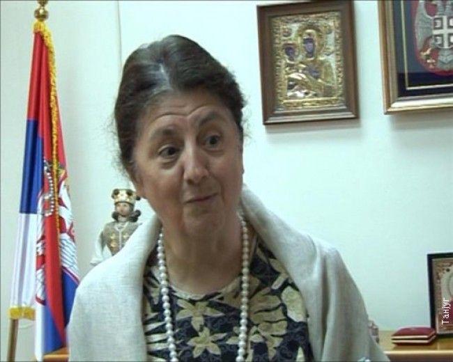 Ambasadorka Kipra Nafsika Krusti
