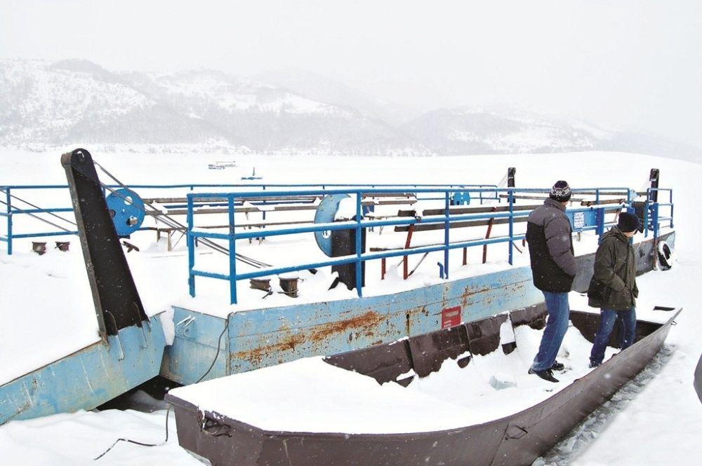 Zlatarsko jezero zima