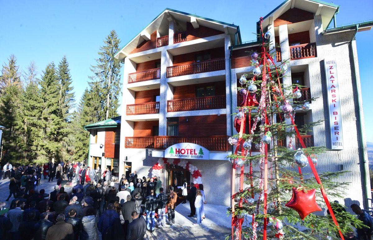 Nova tacka oslonca razvoja turizma - hotel Zlatarski biseri