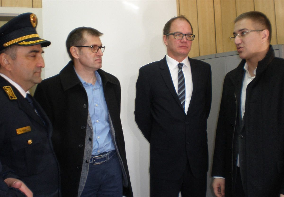 Ministar Nebojsa Stefanovic u Priboju