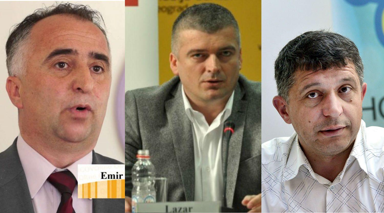 Emir Hasimbegovic Lazar Rvovic Dimitrije Paunovic