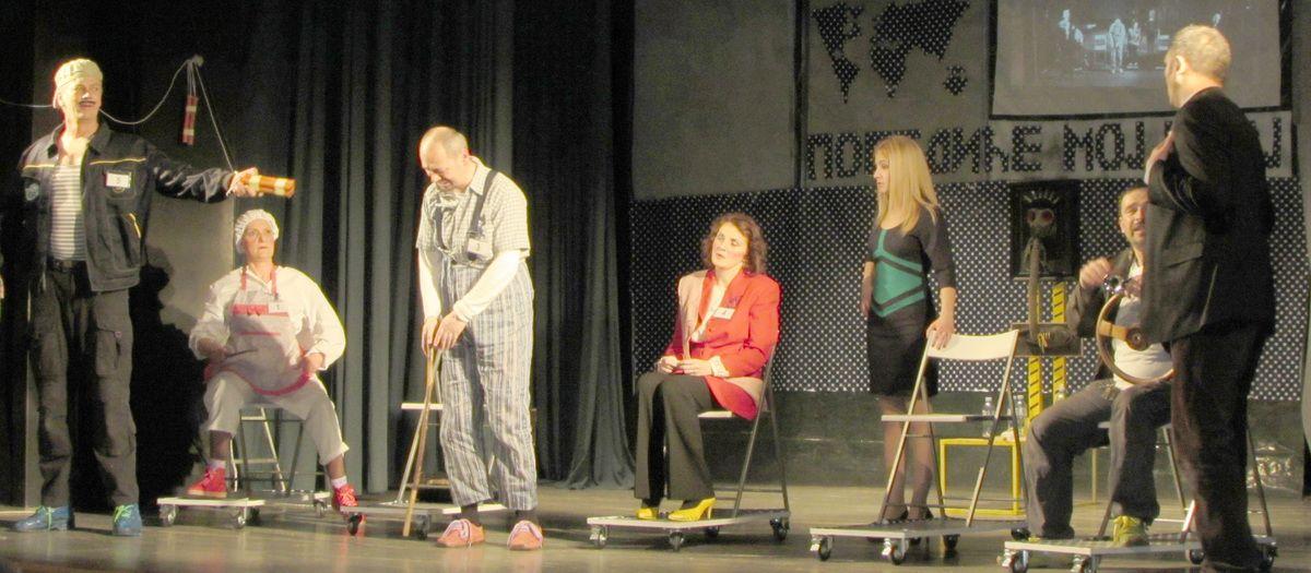 """Predstava """"Život u tesnim cipelama"""" Amatersko pozorište Nova Varoš"""
