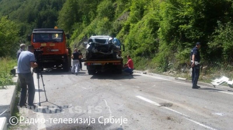 Teška saobraćajna nesreća kod Nove Varoši