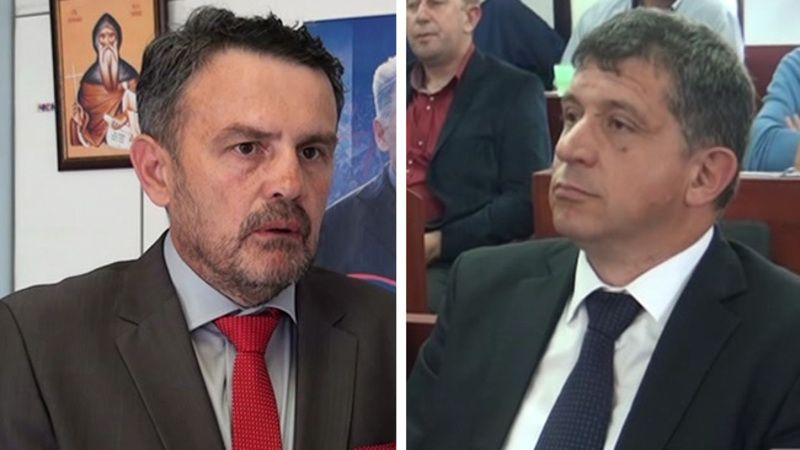 Никола Јелић и Димитрије Пауновић
