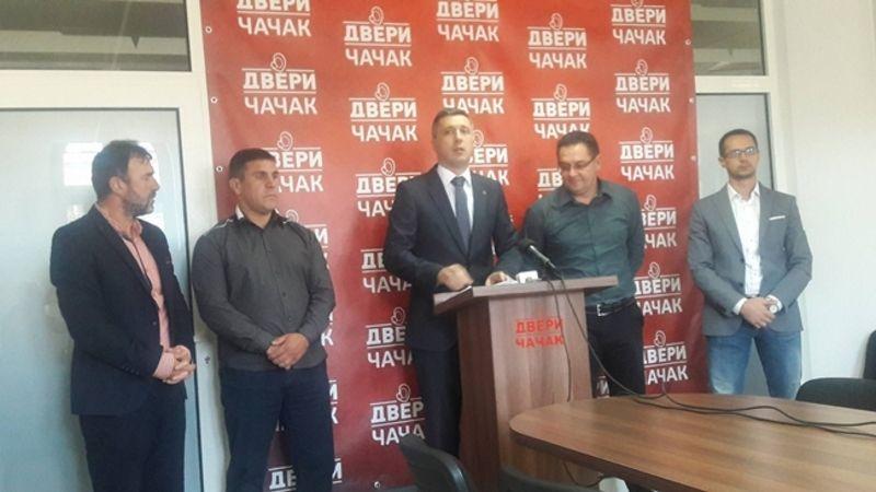 Bosko Obradovic u poseti Novoj Varosi septembar 2016