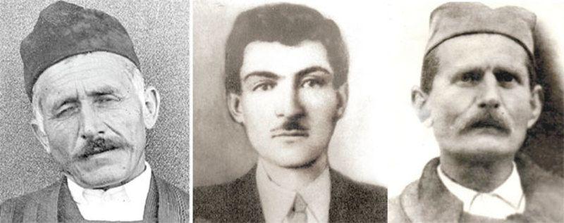 Јован Т. Томашевић, Здравко Шапоњић и Благоје Рољевић