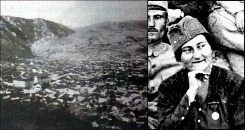 Ужице из времена када је Љубица Чакаревић кренула у Велики рат