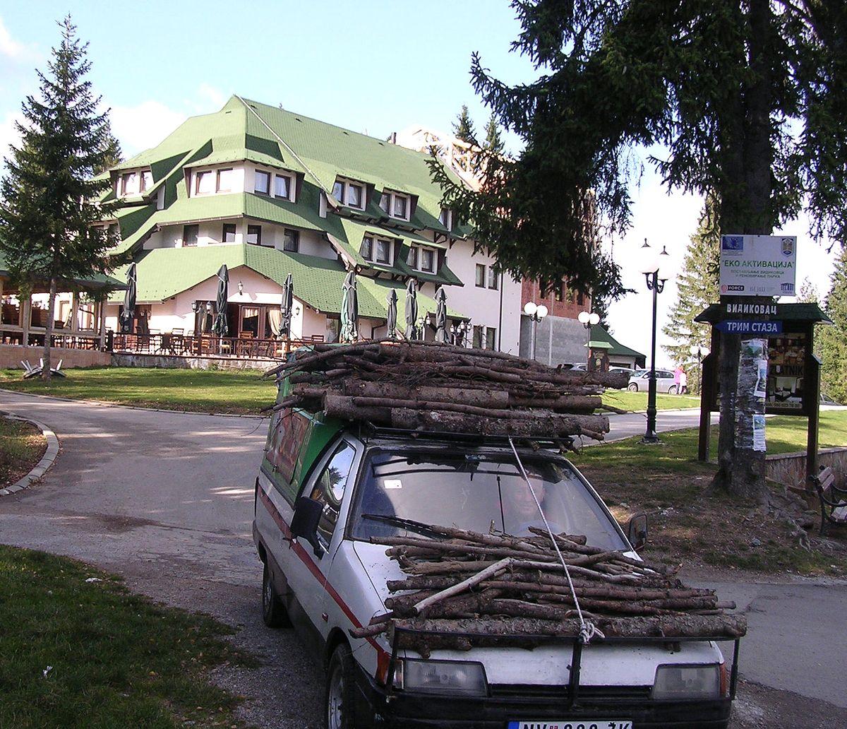 ОГРЕВ – довијање и  сналажњивост, на дохват руке су вржине, а и шумари не бране чишћење шума