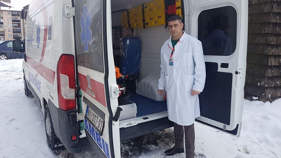 Novo sanitetsko vozilo