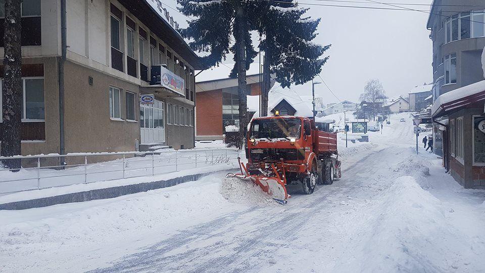 Čistač snega Nova Varoš
