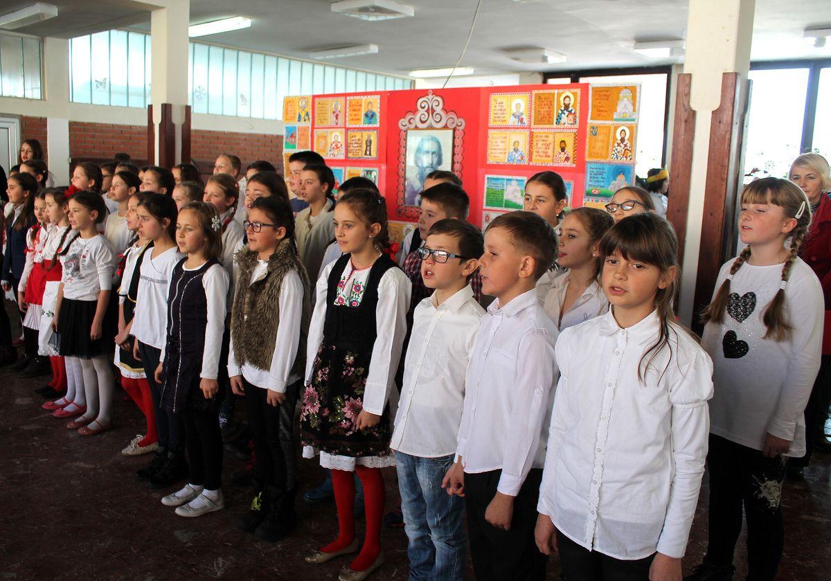 Ускликнимо с љубављу светитељу Сави - хор школе