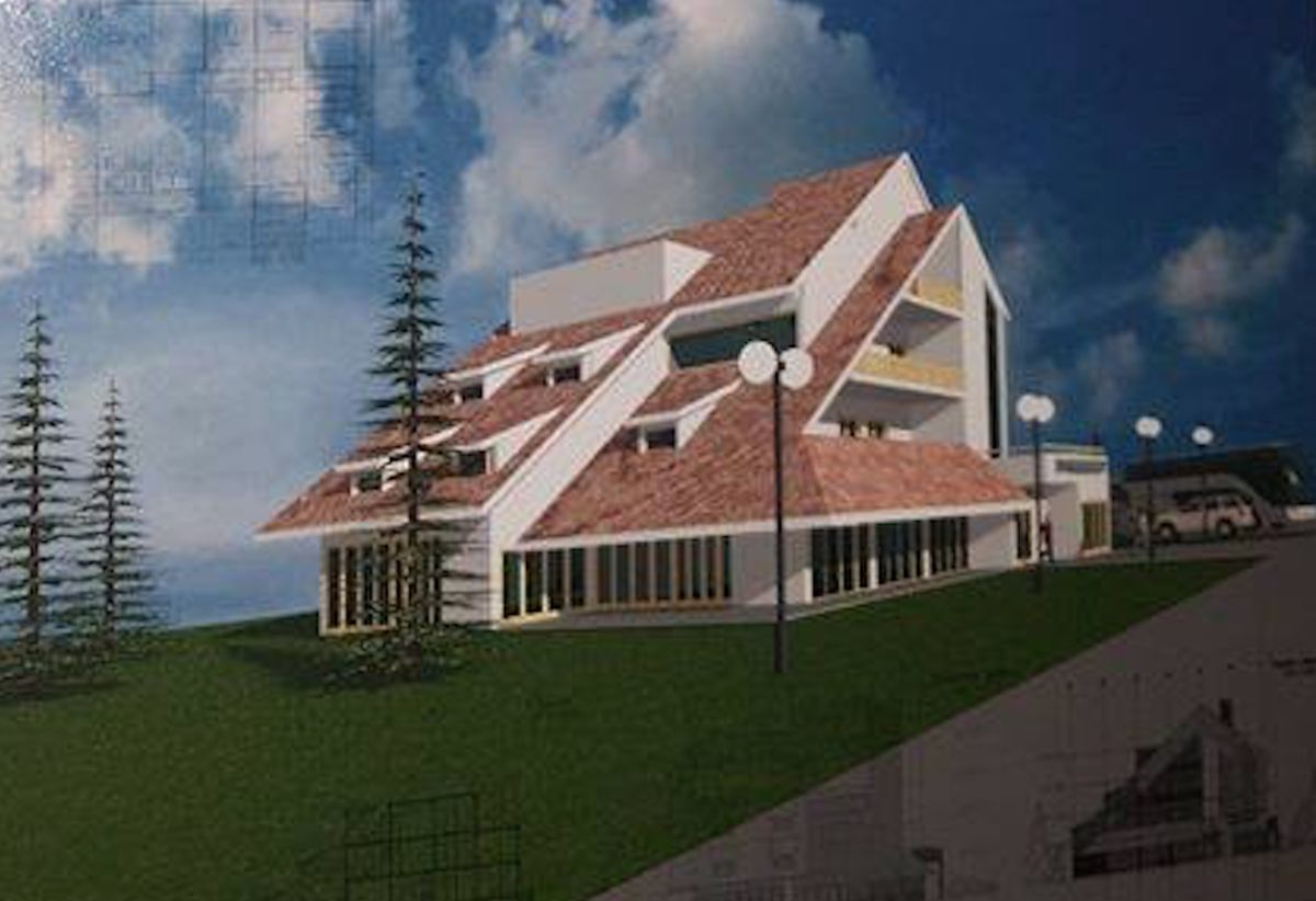 "Idejni projekat Hotela ""Aleksandar"""