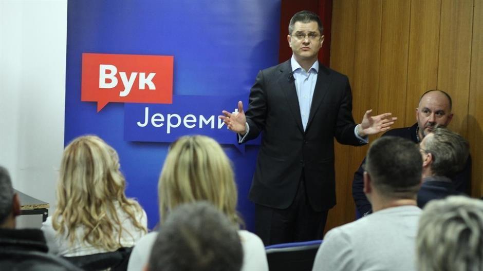 Вук Јеремић на предизборној конвенцији у Новој Вароши