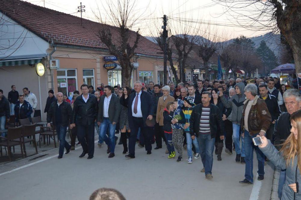 Војислав Шешељ посетио Златиборски округ